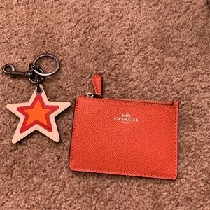 Coach wallet and key chains